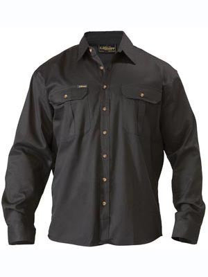 Bisley Original Cotton Drill Long Sleeve Shirt