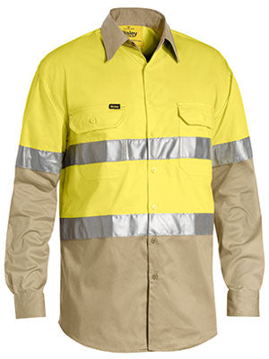 Bisley 3M Taped Hi Vis Cool Lightweight Shirt