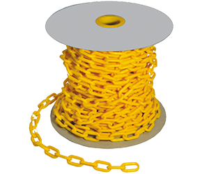 MaxiSafe Yellow Plastic Safety Chain