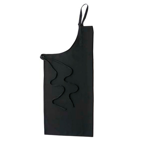 Black Bib Apron with NO Pocket
