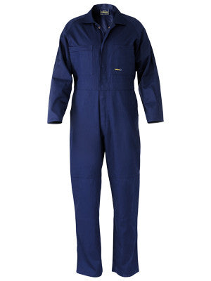 Bisley Navy Regular Weight Coveralls