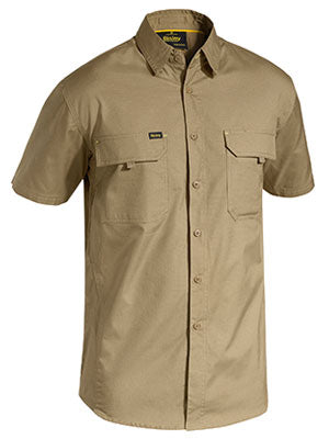 Bisley Mens Airflow Ripstop Short Sleeve Shirt