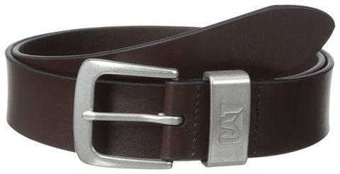 CAT Brown Madison Genuine Leather Belt