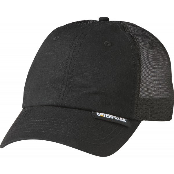 CAT Black Truckers Cap
