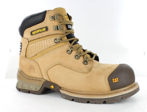 CAT Brakeman Side Zip Steel Toe Workboot