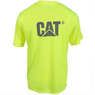 CAT HiVis Tshirt with Reflective Logo
