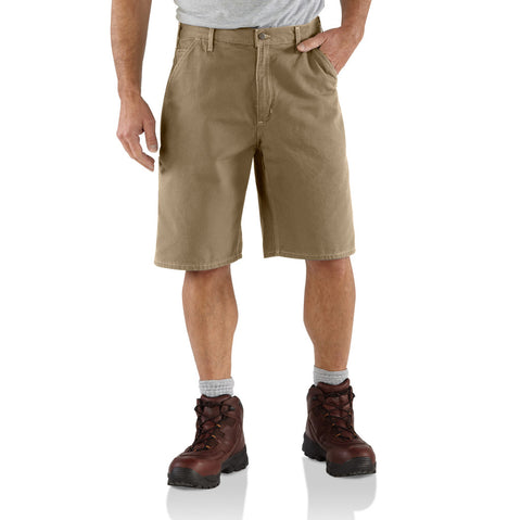 Carhartt Khaki Canvas Work Short