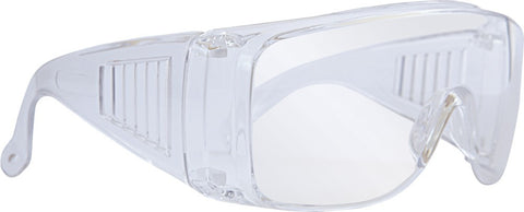 SGA Alpha Box of Clear Safety Over Glasses
