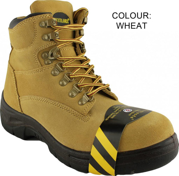 Woodlands Darwin Wheat Steel Cap Side Zip Work Boot