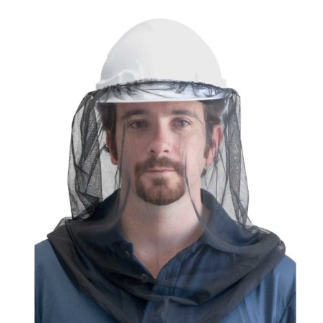 Easy View Insect Net for over Hard Hats