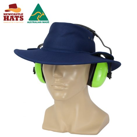Earmuff Safety Hat