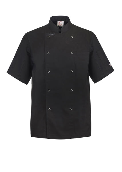 Chefcraft Executive Chef Lightweight S/S Jacket with Studs