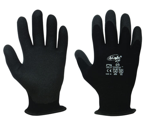 Ninja ICE Palm Coated Fleece lined Glove