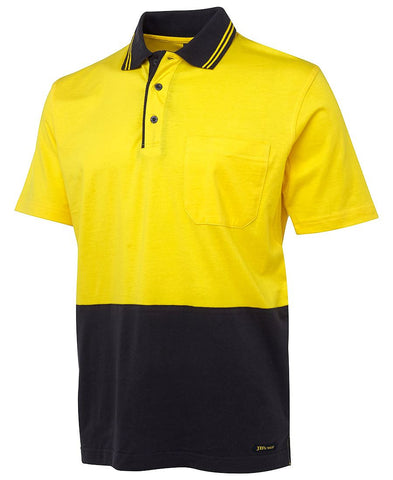 JB's HiVis Cotton Polo Shirt