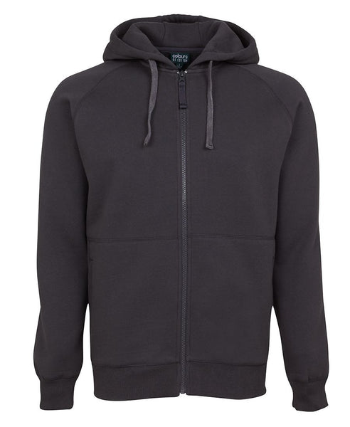 JB's Adults Cotton Rich Full Zip Hoodie