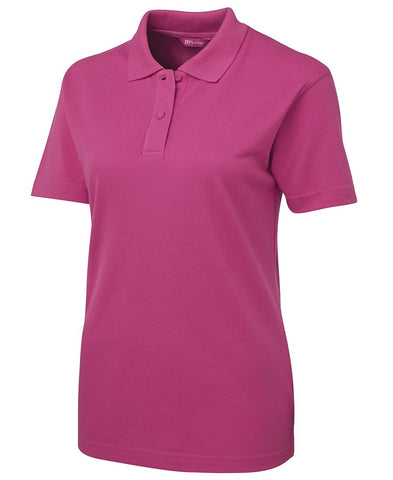 Ladies Pique Polo with Imbac Lodge Embroidered Logo