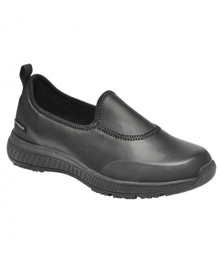 King Gee Women's Superlites Leather Slip-On Shoe