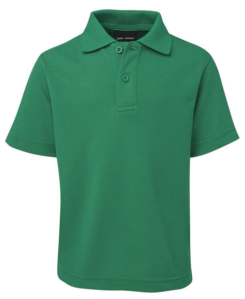 Kids Pique Polo with Imbac Lodge Embroidered Logo