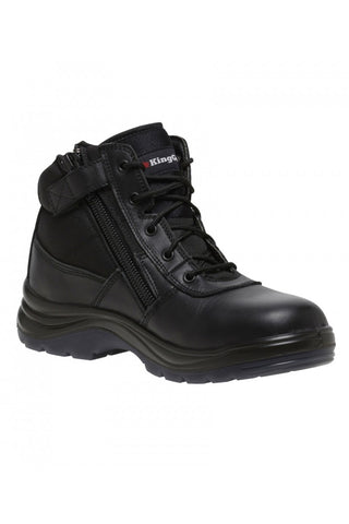 King Gee Non Safety Tradie Shield Side Zip Work Boot