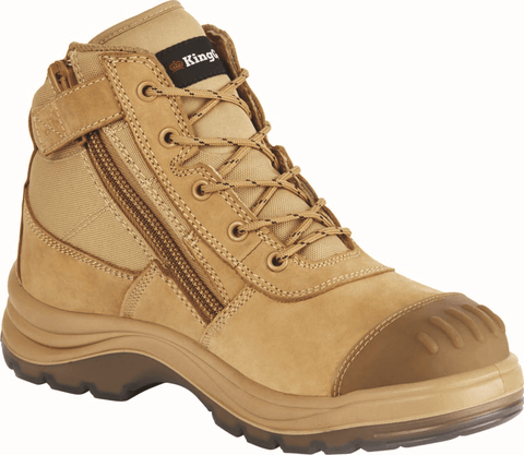 King Gee Tradie 5inch Side Zip Safety Boot