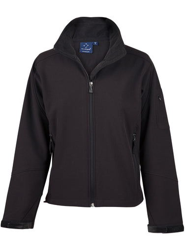 Ladies Softshell Jacket with Imbac Lodge Embroidered Logo