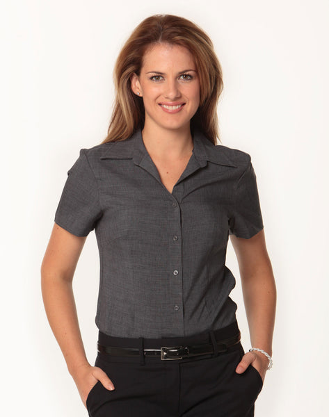 Benchmark Ladies Cooldry Short Sleeve Shirt
