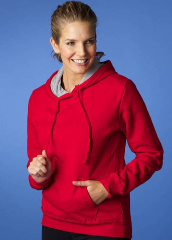 Aussie Pacific Ladies Hotham Cotton Rich Hoodie