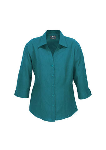 Fashion Biz Plain Oasis 3qtr Shirt