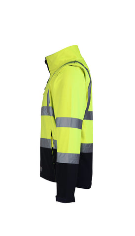 Rainbird Landy Softshell Jacket with zip off sleeves