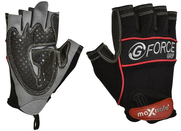 Maxisafe Fingerless Mechanics Glove