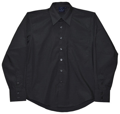 Winning Spirit Mens Executive Teflon Coated L/S Shirt