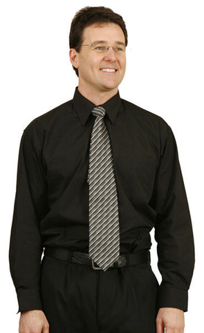 Winning Spirit Mens Principal Long Sleeve Business Shirt