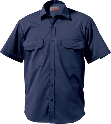 King Gee Wash n' Wear Short Sleeve Shirt