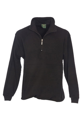 Barden Fleecy Lined 1/2 Zip Neck Pullover