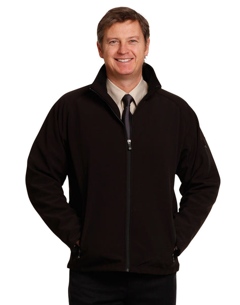 Mens Softshell Jacket with Imbac Lodge Embroidered Logo