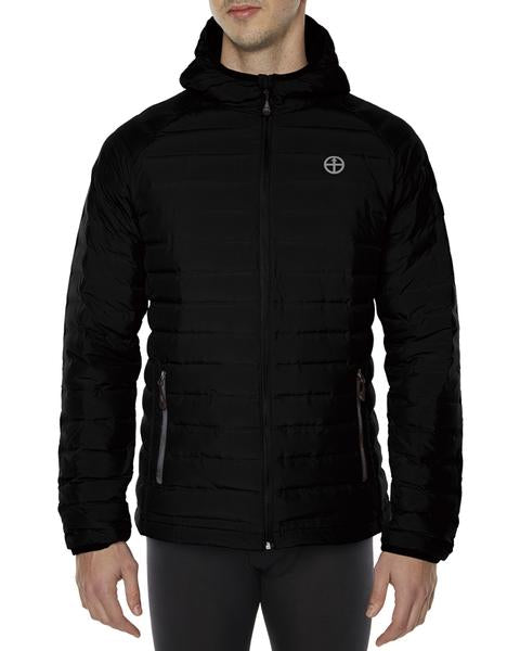 Men's Vigilante Power Down Jacket with Imbac Lodge Embroidered Logo