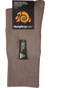 Humphrey Law No Elastic Merino Work Sock
