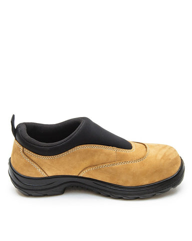 Oliver Wheat Lightweight Slip on Safety Shoe