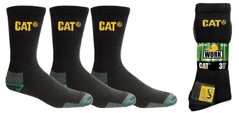 CAT 3 Pack Workwear Bamboo Sock