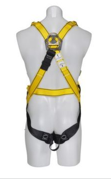 MSA WORKMAN PREMIER Safety Harness With Bayonent Leg Strap Connectors
