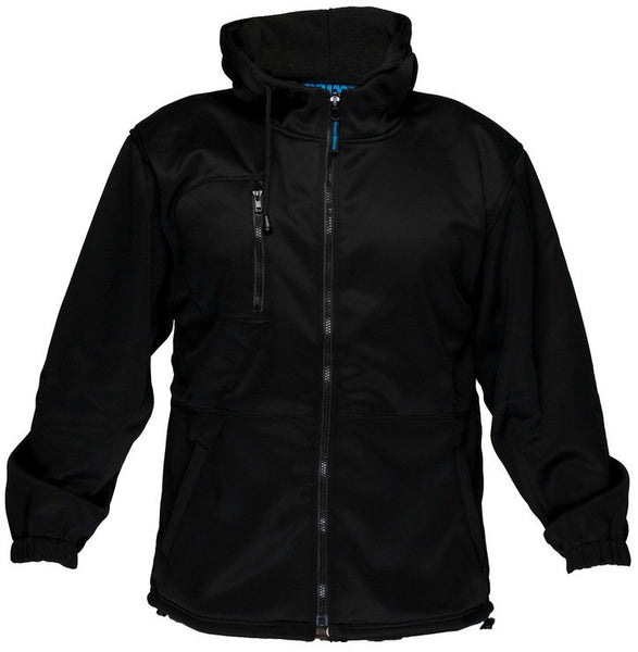 Primemover Plain Water Repellent Fleecy Hoodie