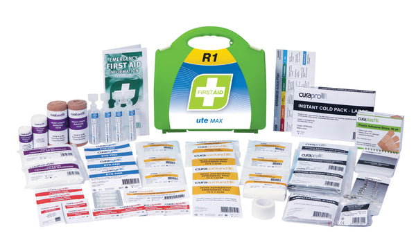 FastAid R1 Ute Max First Aid Kit (Hard Plastic)