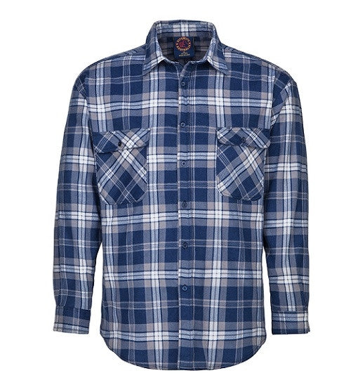 RiteMate Open Front Flannelette Shirt