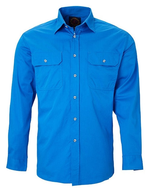 RiteMate Pilbara Men's Open Front Shirt