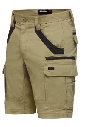 King Gee Tradies Utility Stretch Cargo Short