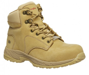 King Gee Women's Honey Tradie Composite Toe Side Zip Safety Boot