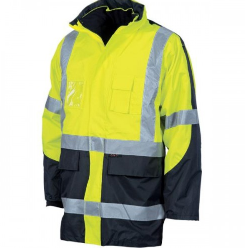 DNC HIVIS 6 in 1 Contrast Jacket