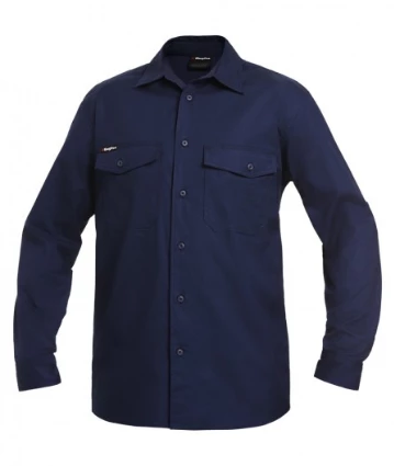 King Gee Ripstop L/Sleeve Shirt