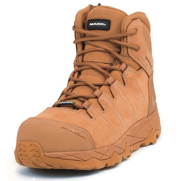 MACK Octane Electrical Hazard Zip Safety Boots