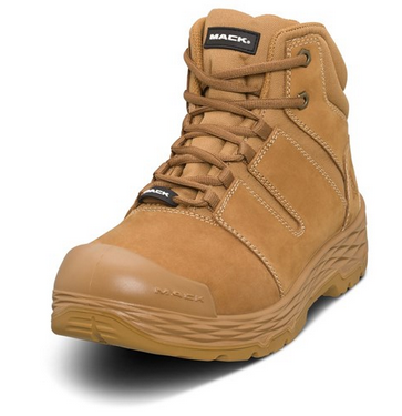 MACK Steel Toe Zip Shift Safety Boots